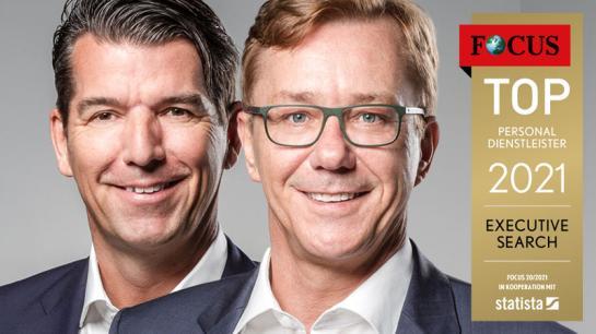 Managing Directors Dietrich Groth und Klaus Mayerhanser von DELTACON