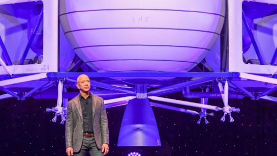 Blue Origin Gründer Jeff Bezos in Wahsington